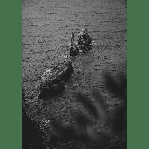 Cliffs Sicily Poster